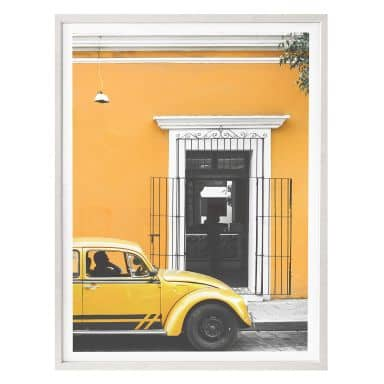 Poster Hugonnard - Taxi in Mexico