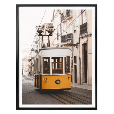 Poster Hugonnard - Tram in Lissabon