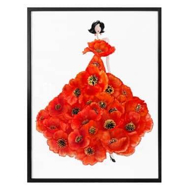 Poster Korenkova - Fashion Poppies