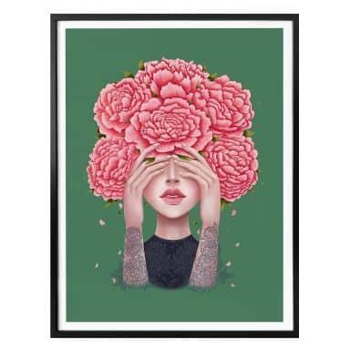 Poster Korenkova - I don't see - grün