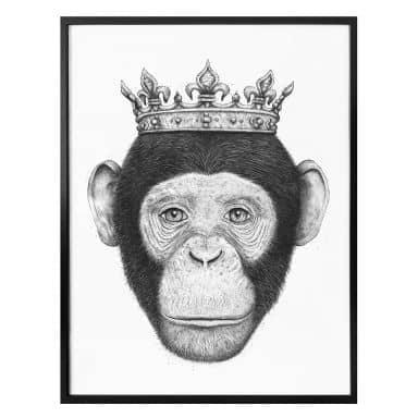 Plakat - Korenkova - The King Monkey