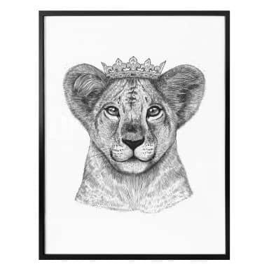 Poster  Korenkova - the Lion Princess