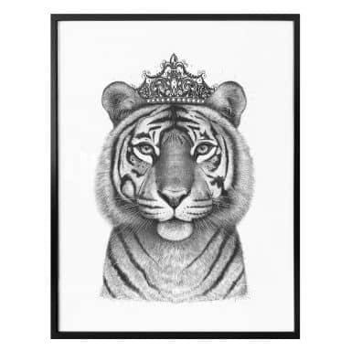 Plakat - Korenkova - The Tigress queen