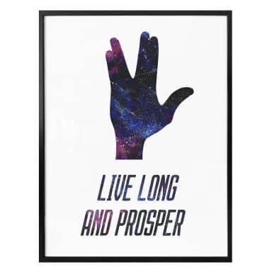 Poster Live long and prosper