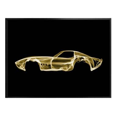 Poster Mielu - Yellow car