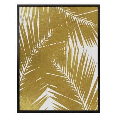 Poster Orara Studio - Palm Leaf Gold