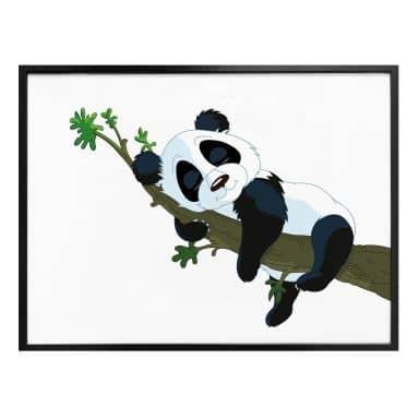 Poster Slapende Panda