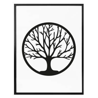 Poster Baum des Lebens