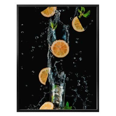 Poster Belenko - Splashing Lemonade