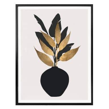 Poster Kubistika - Bouquet No. 5