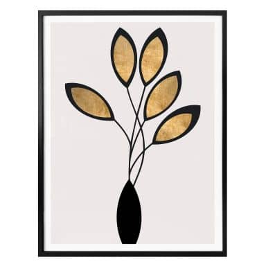 Poster Kubistika - Cinco