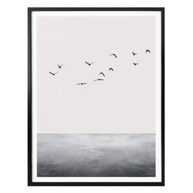 Poster Kubistika - Das offene Meer