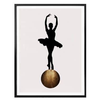 Poster Kubistika - Prima Ballerina