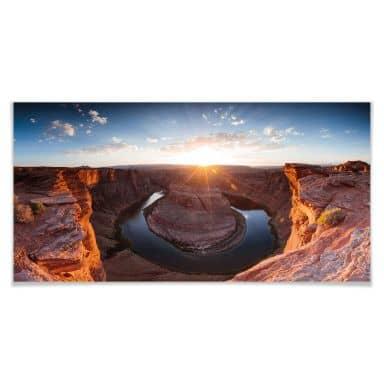 Poster Colombo - Das Horsebound am Colorado River - Panorama