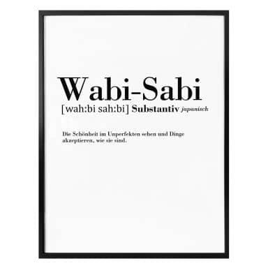 Poster Grammatik Wabi Sabi