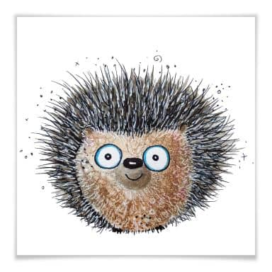 Premium Poster Hagenmeyer – Little Hedgehog