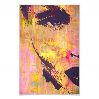 Poster Popart-Portrait