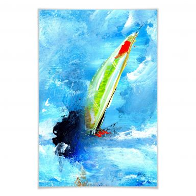 Poster Niksic - Wassersport