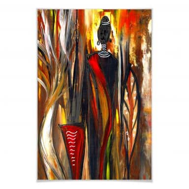 Poster Niksic - Art of Africa 02