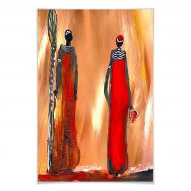 Poster Niksic - Art of Africa