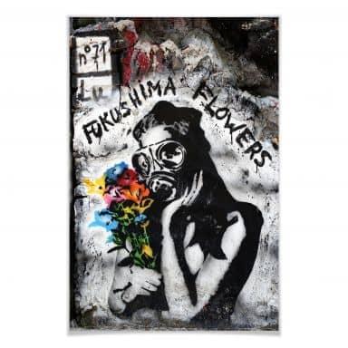 Poster Fukushima-Flowers