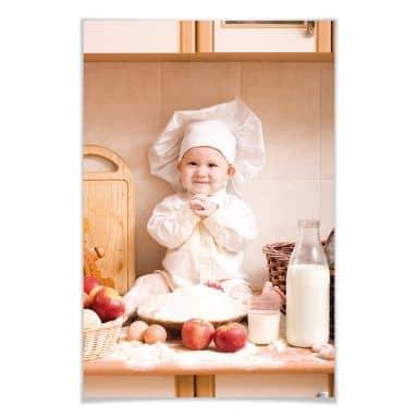 Poster Kleiner Bäcker