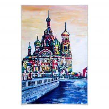 Poster Bleichner - St. Petersburg