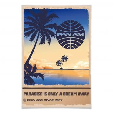 Poster PAN AM - Dream in Paradise