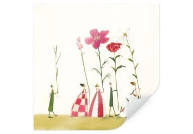 Poster Leffler - Blumenträger