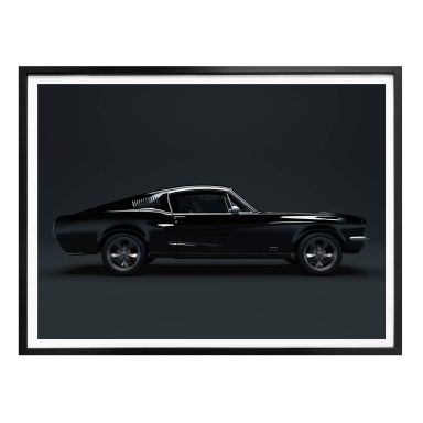 Poster - Muscle Car