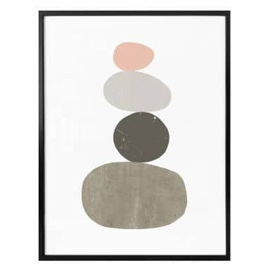 Poster Nouveauprints - Pebbles 1