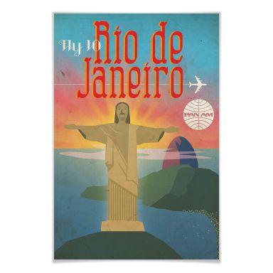 Poster PAN AM - Fly to Rio de Janeiro