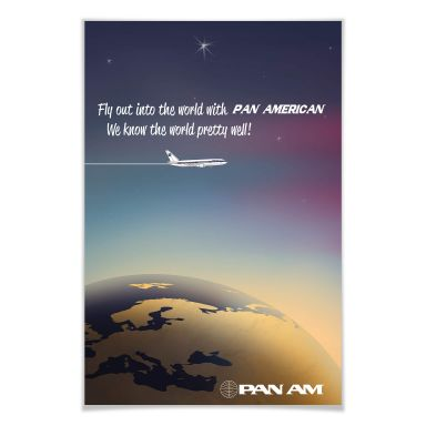Poster PAN AM - Worldwide