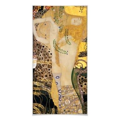 Poster Klimt - Wasserschlangen I.
