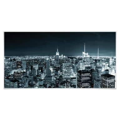 Poster - New York la nuit 02