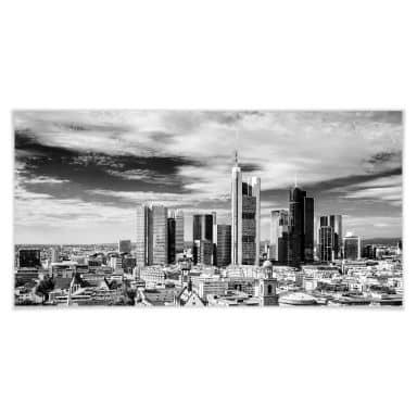 Poster - Skyline de Francfort - Panorama