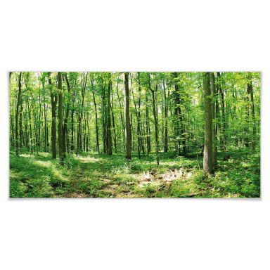 Poster - Forêt en panorama 02