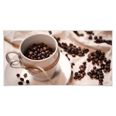 Poster Kaffee Zauber - Panorama