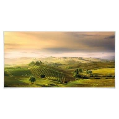 Poster Bratkovic - Podere Belvedere - Panorama