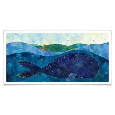 Poster Blanz - Der Walfisch