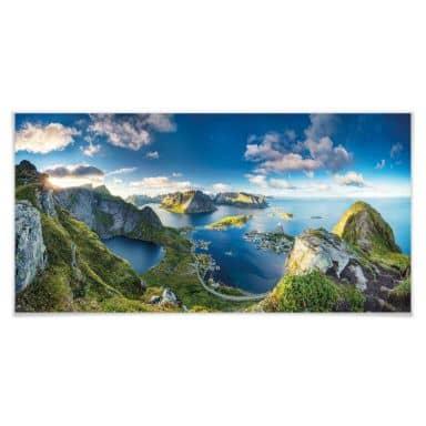 Poster Roemmelt - Aussicht vom Reinebringen - Panorama