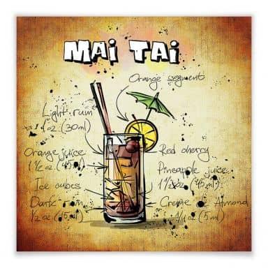 Poster Mai Tai - Rezept