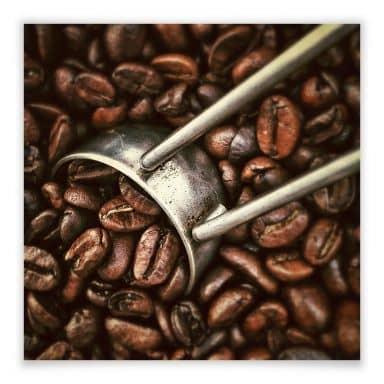 Poster Kaffeerösterei
