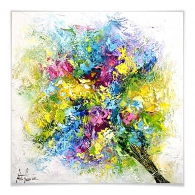 Poster Fedrau - Lass Blumen sprechen 02