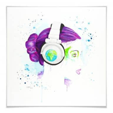 Poster Buttafly - Listen to the World