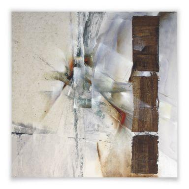 Poster Schmucker - Weisse Komposition