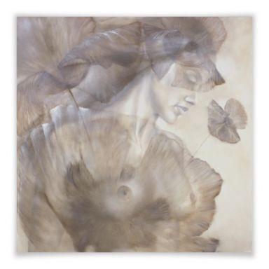 Poster Schmucker - Naked Poppy