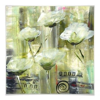 Poster Niksic - Ambiente  Florale