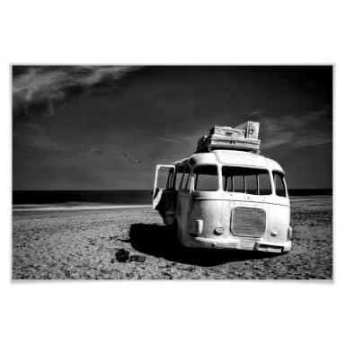 Poster Depaepe - Beached Bus