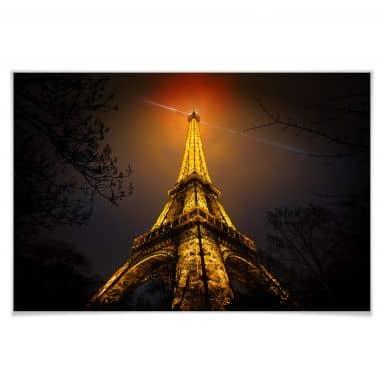 Poster Geiger - La Tour Eiffel